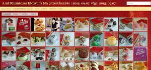A Mi Süteményes Könyvünk Ma , Sikeresen befejezett Váncza-projectem.