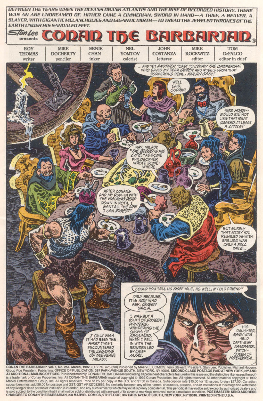 Conan the Barbarian (1970) Issue #254 #266 - English 2