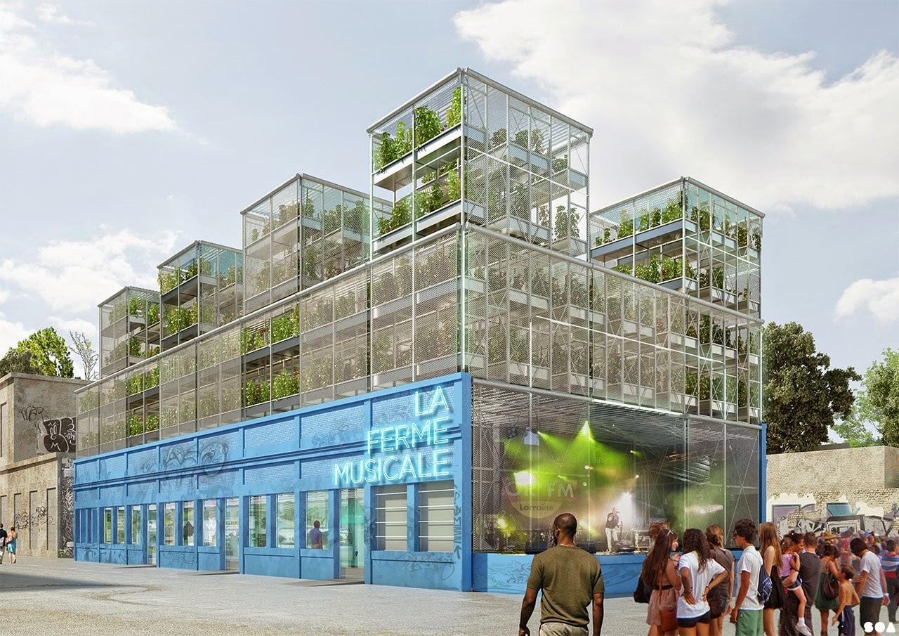 Quelle ville verte pour le futur l ments de r ponse sur for A la verticale du jardin grenoble