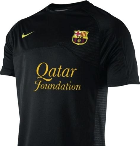 Nouveau maillot barcelone 2011 2012 le for Barcelone maillot exterieur