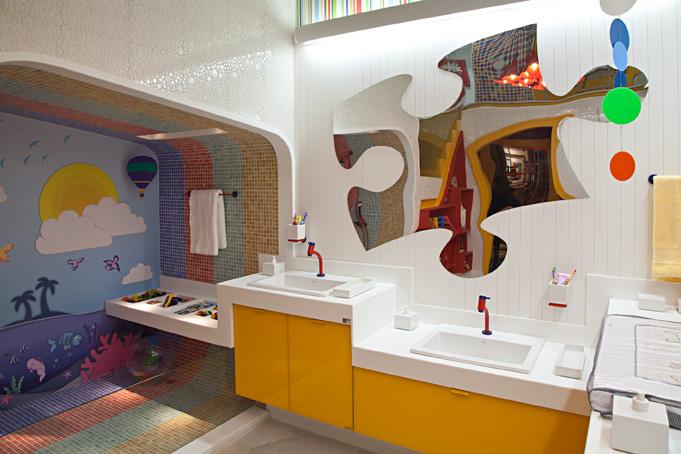 Closet e Banheiro Infantil  Casa Cor Rio ~ Infinito Assessoria -> Decoracao Banheiro Educacao Infantil