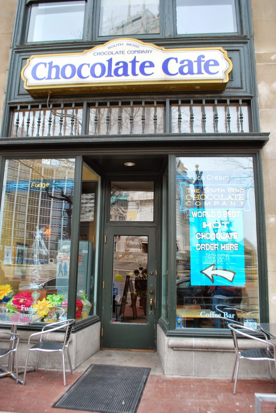Chicago Foodie Sisters: South Bend Chocolate Cafe, Indianapolis, IN