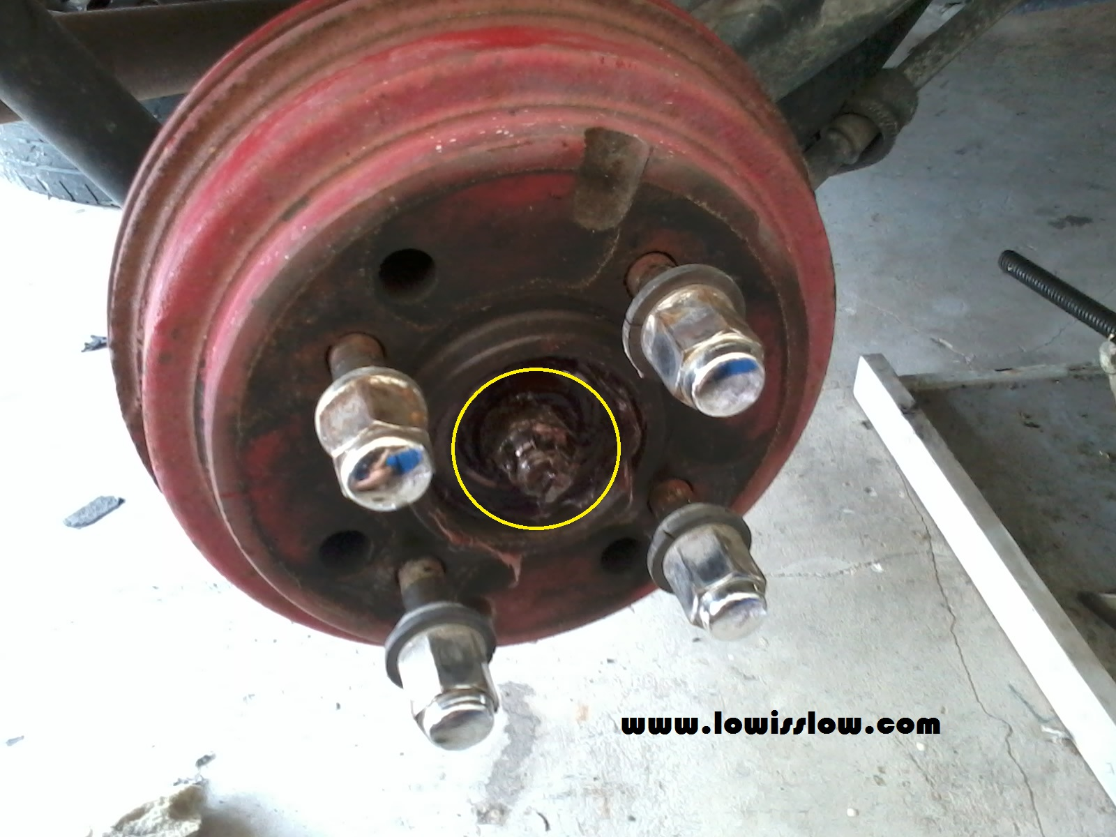 with machine diy rear disc brake conversion for perodua kancil