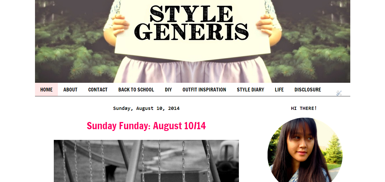 style generis blog makeover