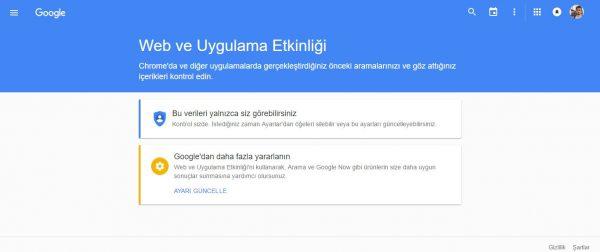 Google Ses Silme