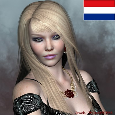 Art zone - Ethnic Beauty Mieke morph and textures