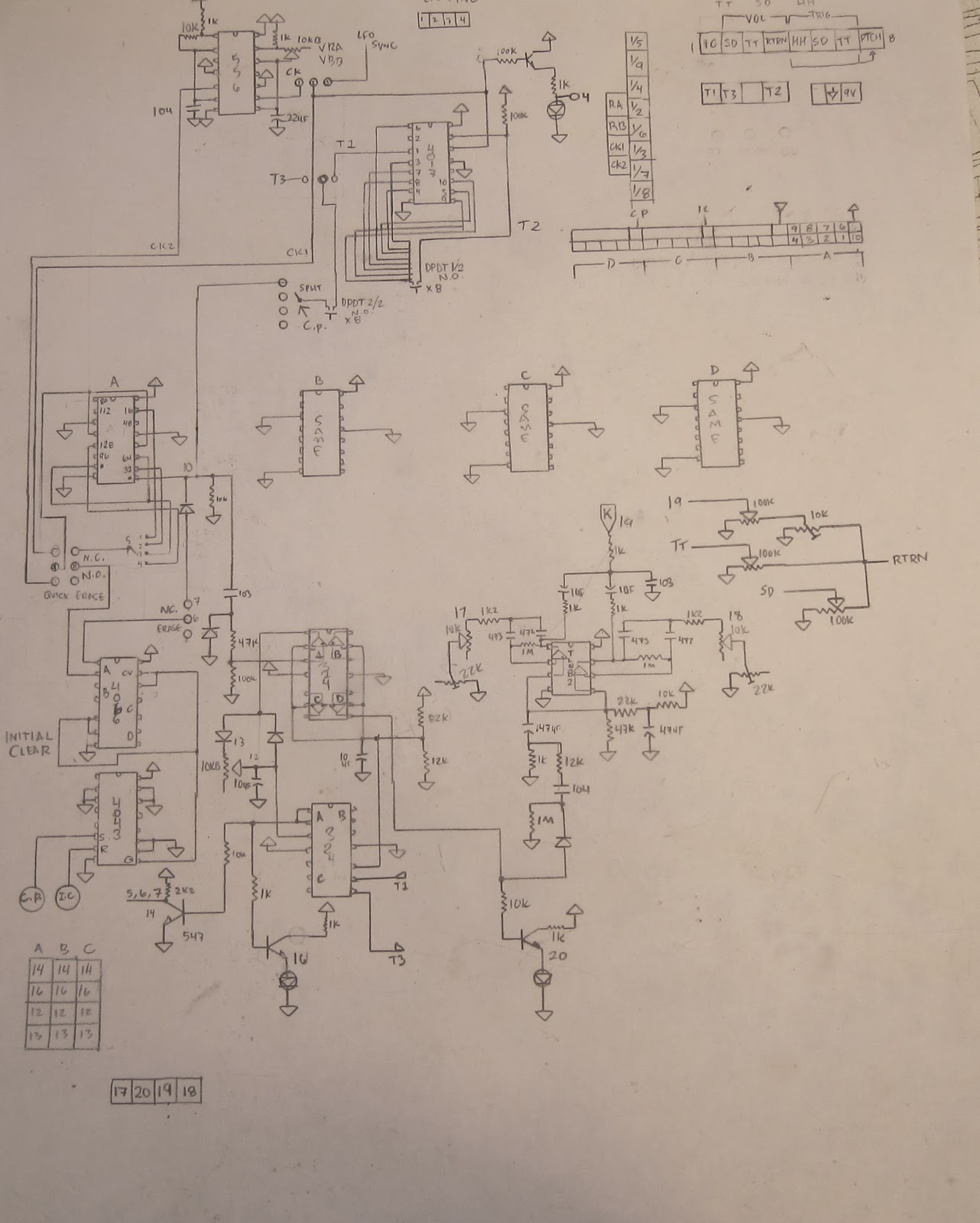 Noystoise2018 Yamaha Ps 3 Holiday Lighting Sequencer Circuit Diagram Super The Came Equipped With Nine Timbres Most Of Which Are Same Sound Through A Different Combination Vcf And Vca Envelopes There Then Two