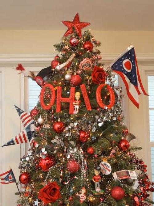 Shirts With Random Triangles: O-H-I-O Christmas Tree: An Ohio ...