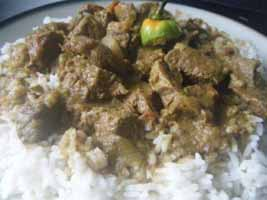 Weight Loss Recipes : Curried Beef and Rice