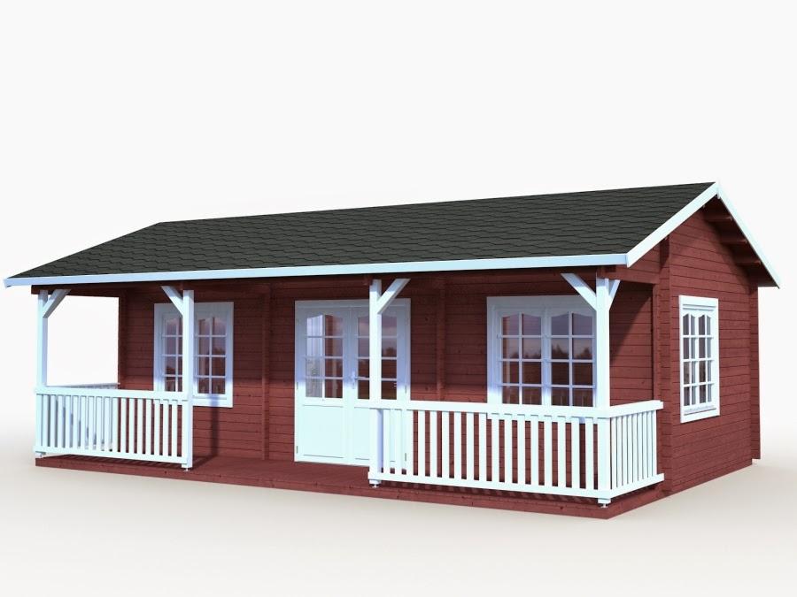 Casas de madera baratas - Bungalow de madera ...