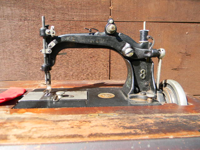 wheeler and wilson sewing machine 8