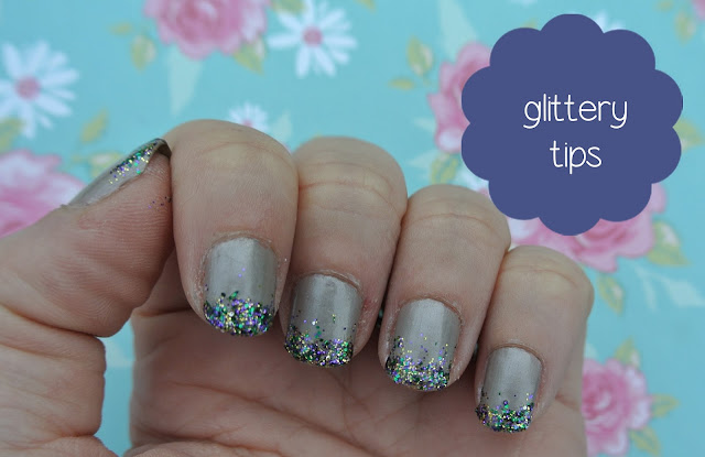 glitter nail varnish