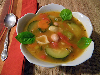 Bowl of Classic Minestrone