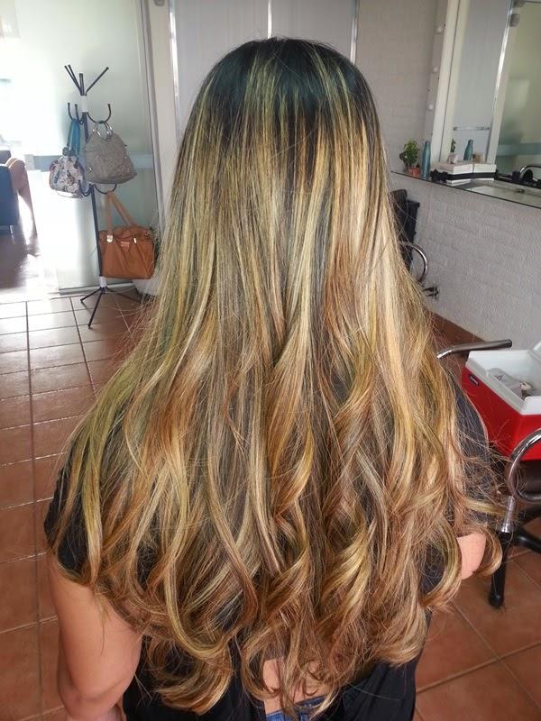 cabelo repicado sem mexer no comprimento