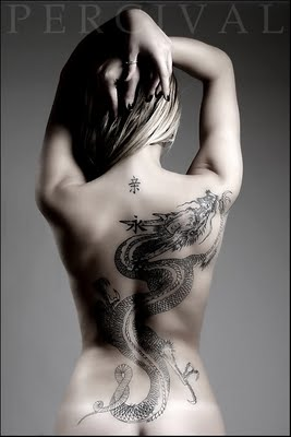 Dragon Back Tattoo