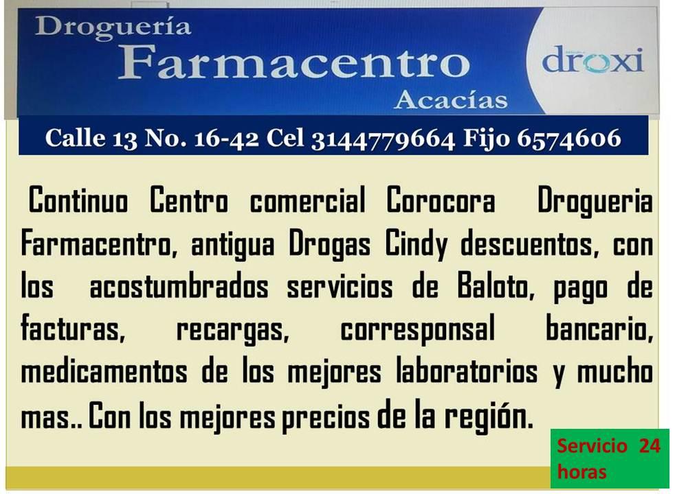 EN MEDICAMENTOS..SERVICIO LOS 24 HORAS.