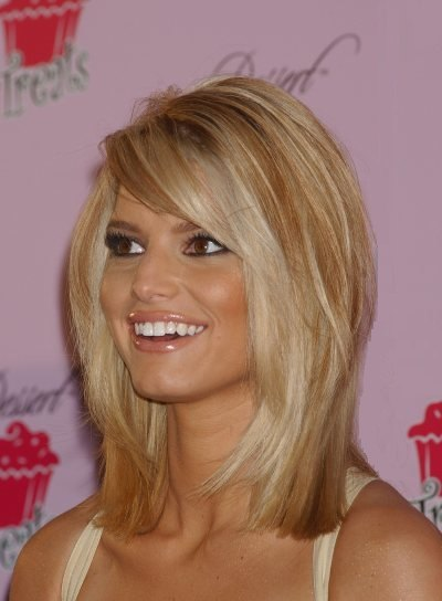 hollywood menue jessica simpson hair color