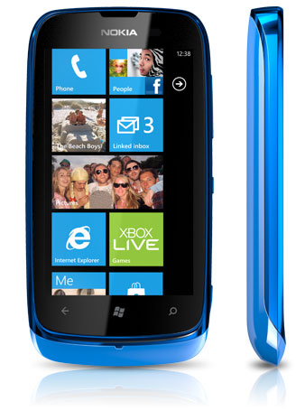 Nokia Lumia 610 Having Fitur Wi-Fi Hotspot