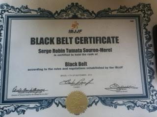 auckland bjj ibjjf black belt certificate