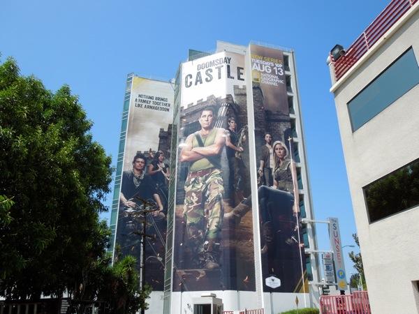 Giant Doomsday Castle season 1 billboard