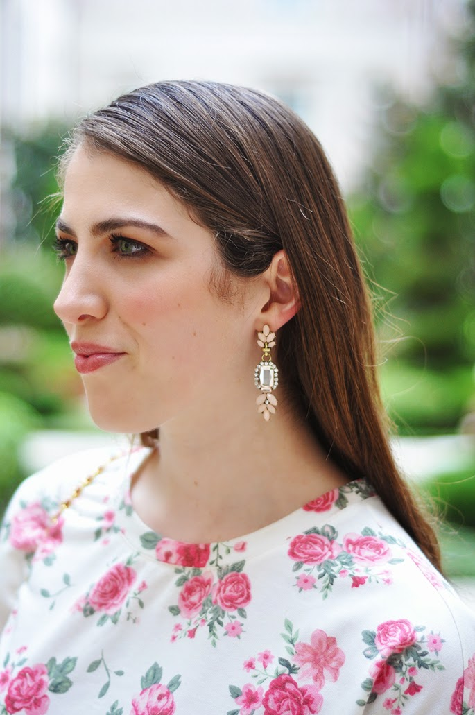 Forever21 statement earrings