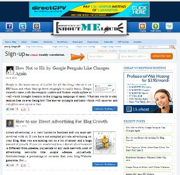 SML-Blogger-Template