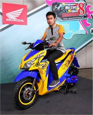 Modif Honda Vario Techno 125-4