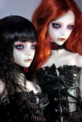 MAKE UP PLAY Gothic Doll