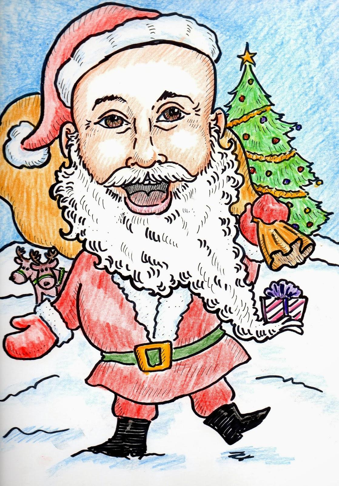 Santa, holiday