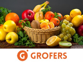 Groceries 30% off + 20% Cashback – Grofers
