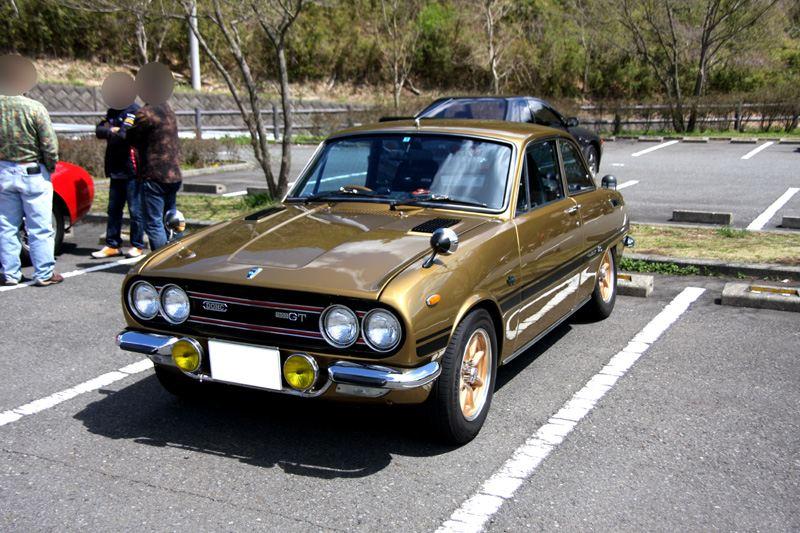 Isuzu Bellett GT, stary japoński samochód, motoryzacja, oldschool, fotki