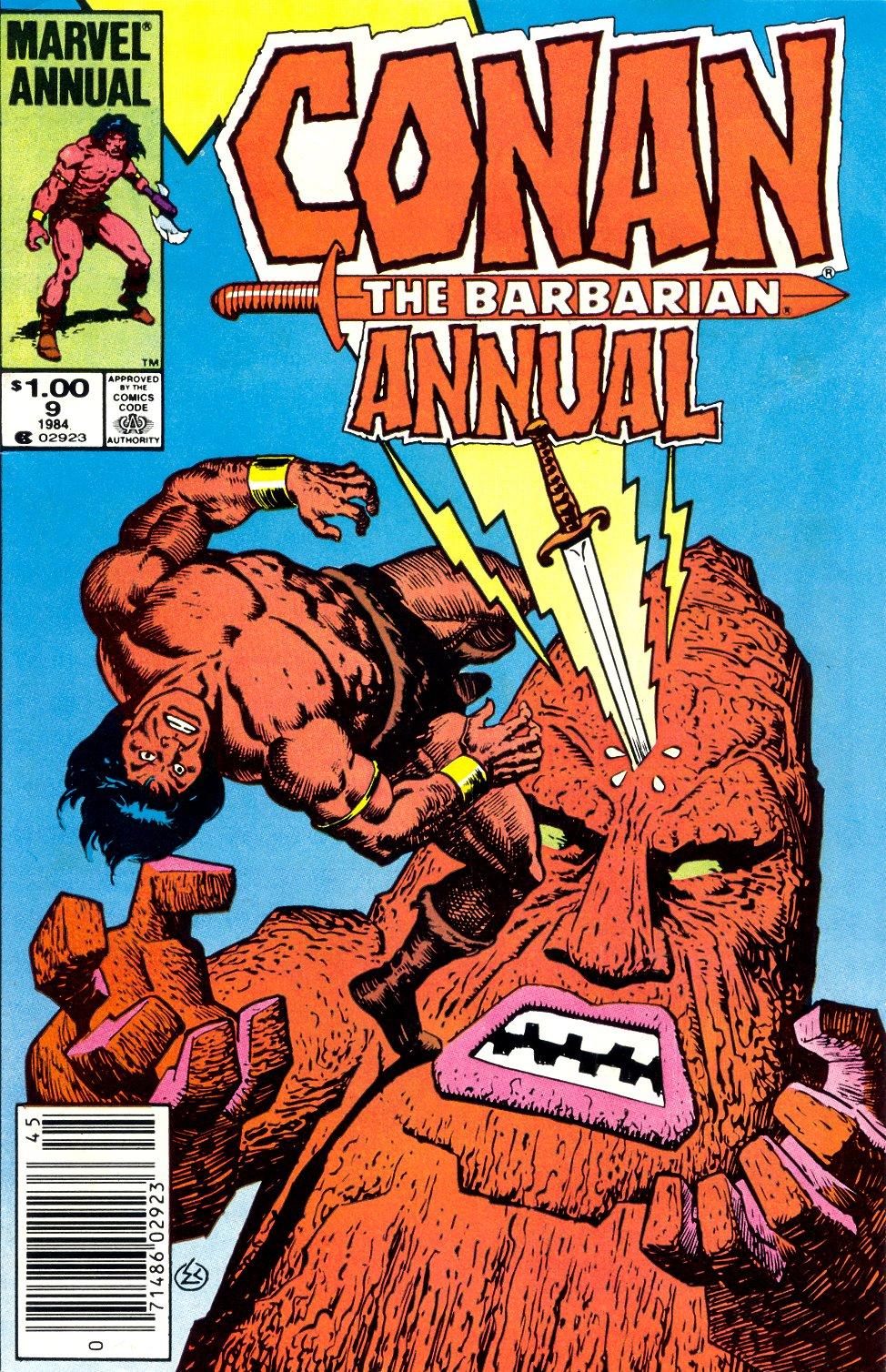 Conan the Barbarian (1970) Annual_9 Page 1