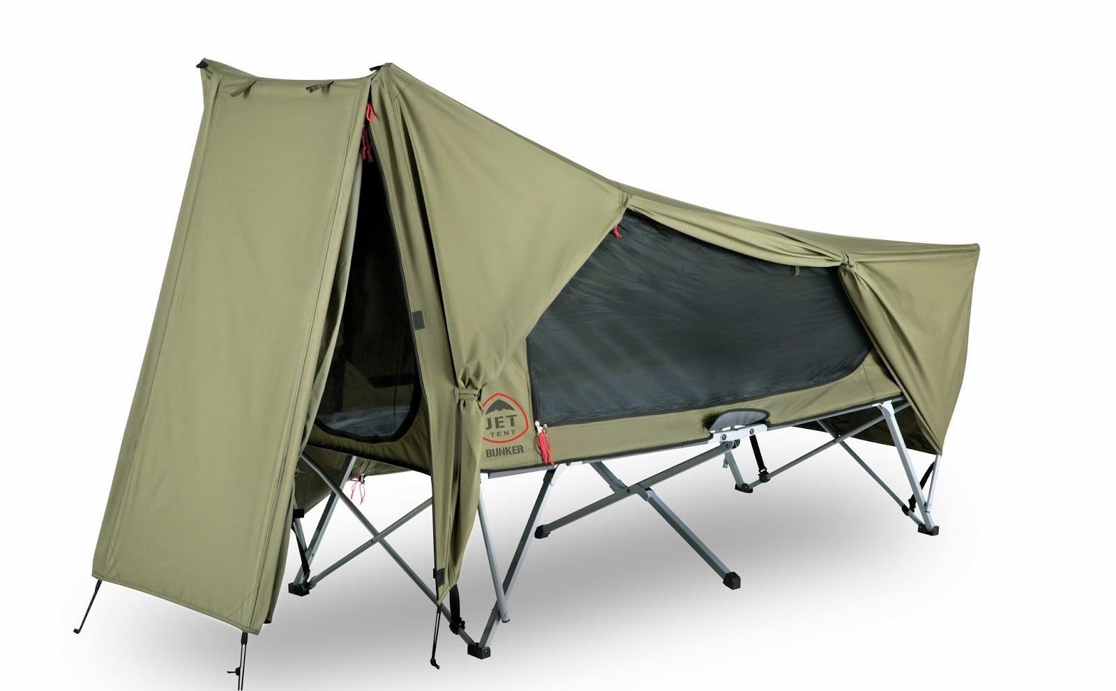 Click Here for more info and pricing on the Jet Tent Bunker and Jet Tent Bunker XL  sc 1 st  Family Tent C&ing & Family Tent Camping : Jet Tent Bunker XL Tent Cot by OzTent