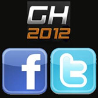 GH 2012: Twitter y Face-Book de los todos los 24 Participantes.