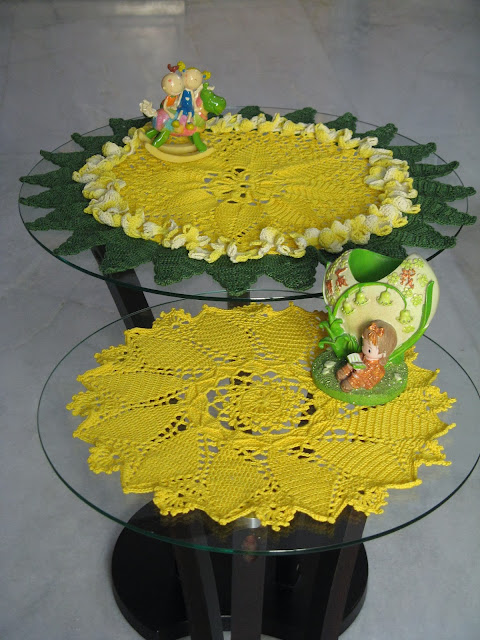 Crochet Sunburst doily