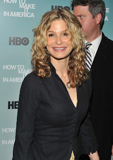 Kyra Sedgwick Curly Hairstyle