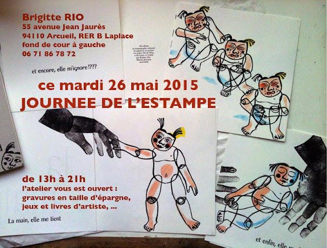 Journée de l'estampe 2015 - Brigitte Rio