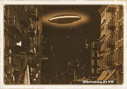 UFO Mothership Over New York City – 1879