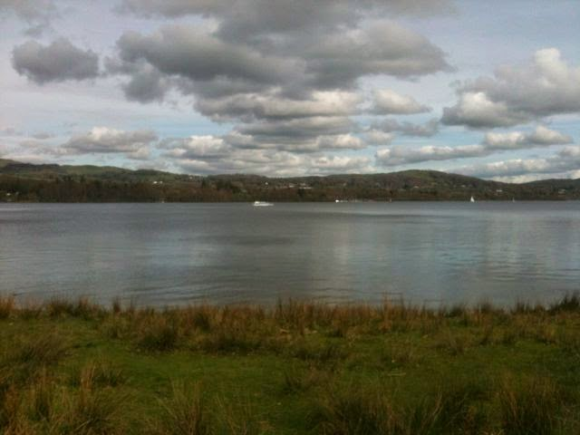 view across Windermere