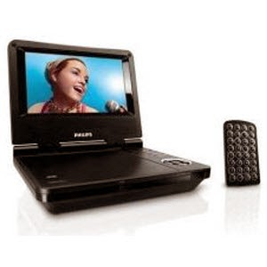 Snapdeal: Buy Philips Portable Dvd Player Pet/717 at Rs.3037