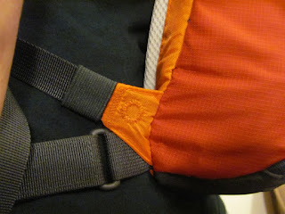 Big Sur Hydrapak Shoulder Strap Detail