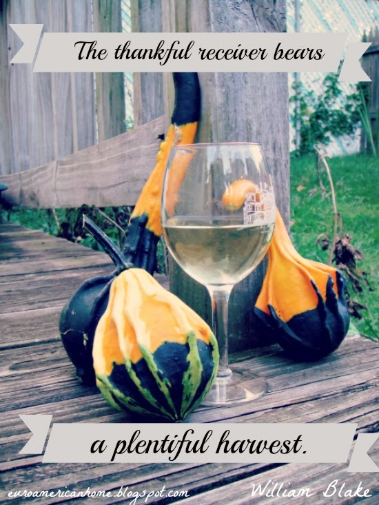 Fall is the season of harvest and wine: EuroAmericanHome