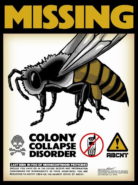 lebah berkurang