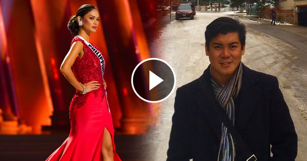 Pinoy Designer Based In Los Angeles Rescued Pia Wurtzbach In Evening
