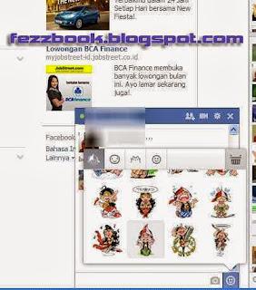Cara Menampilkan Emotiocon Wayang Unyu Saat Chatting Di Facebook