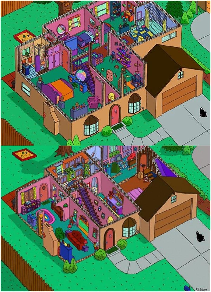 I D E A Los Planos De Las Casas De Mis Series Favoritas