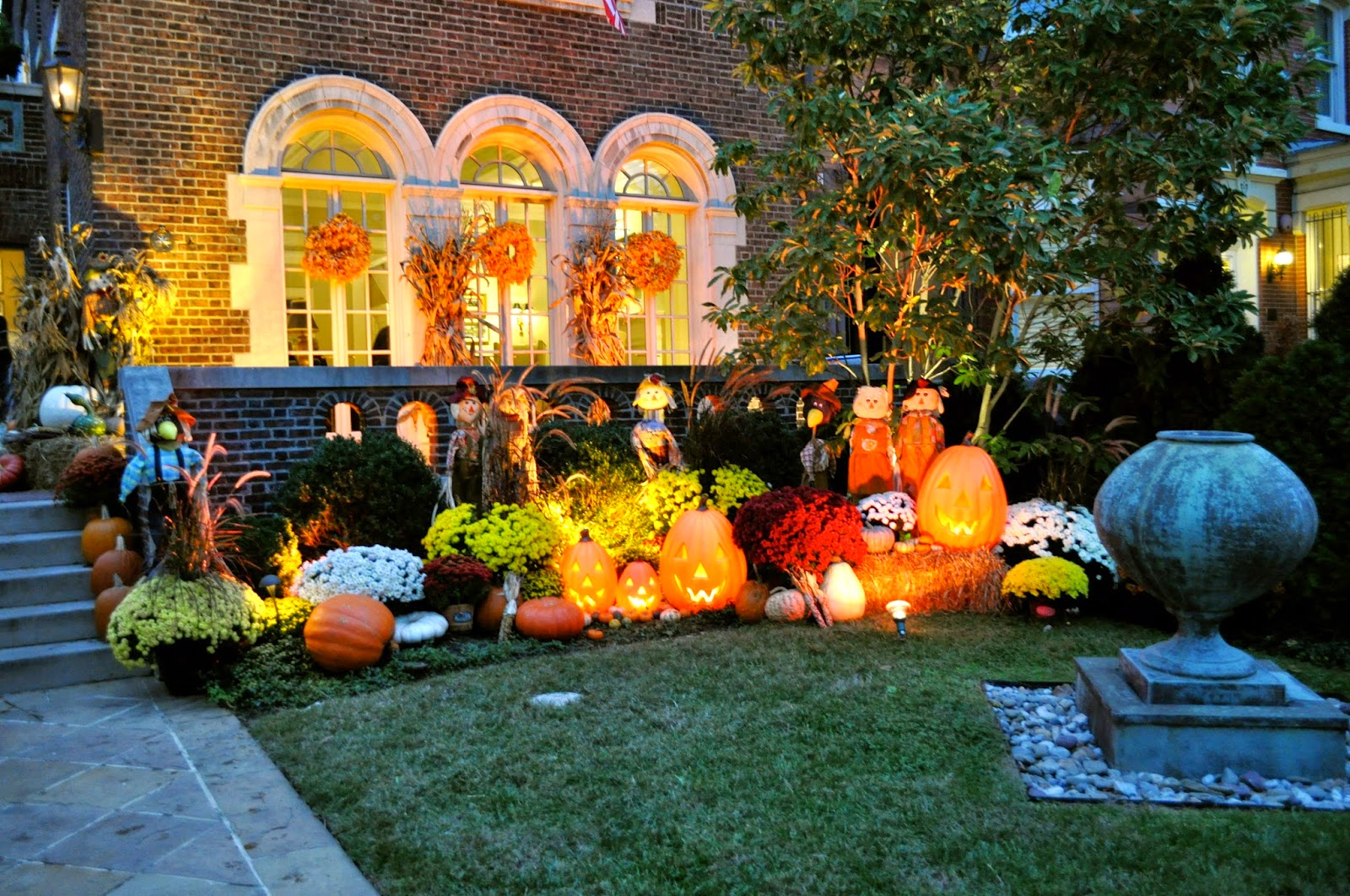 Outdoor Fall Decorating Ideas Pinterest Instant Knowledge