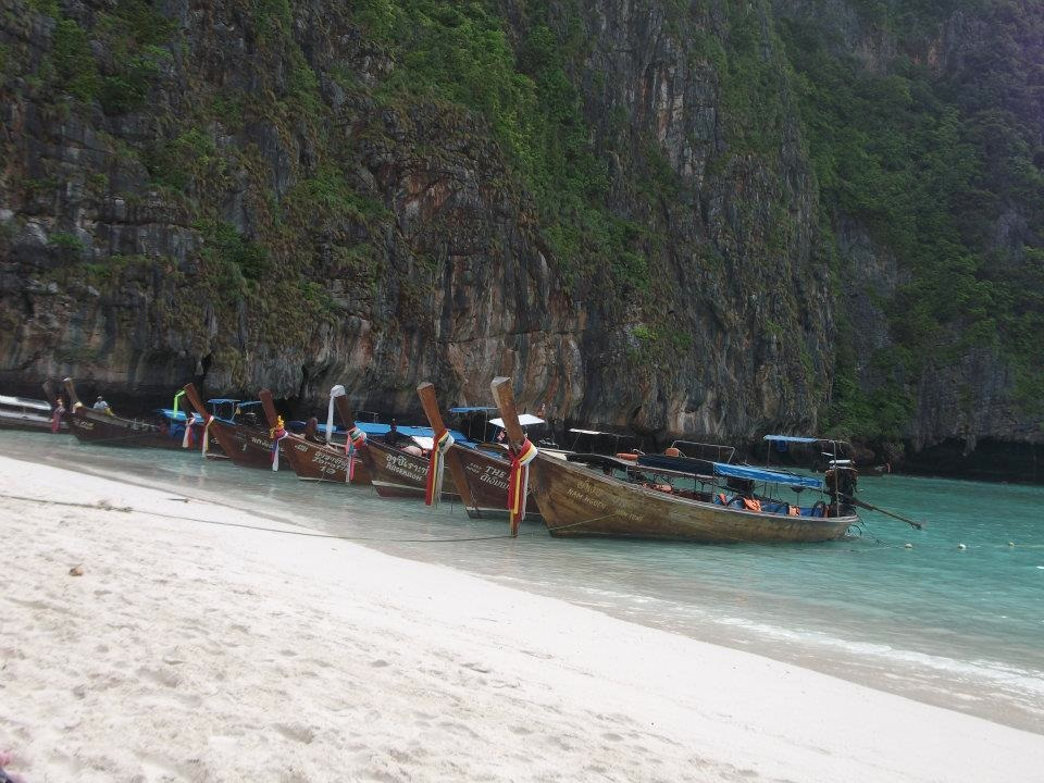 Top tips for travelling - long boats Thailand