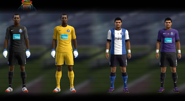 PES 2012 Porto 2012/13 Kits by Stelien
