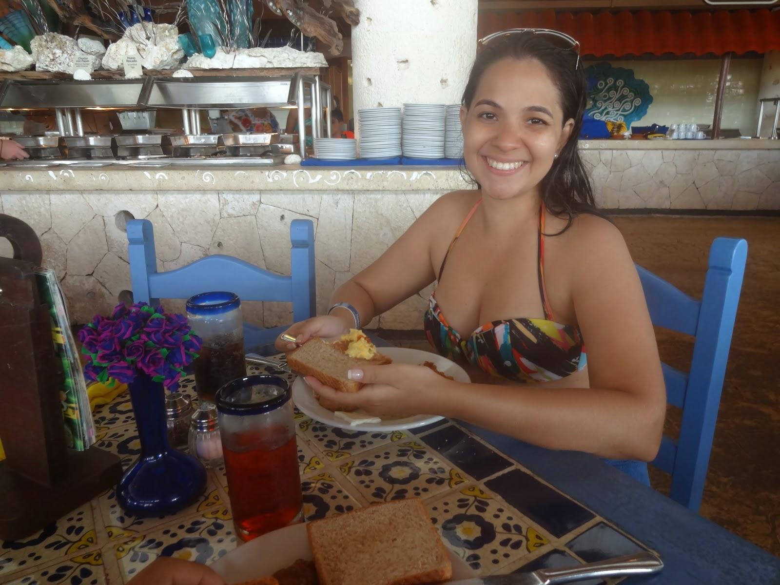 cafe da manha - parque xel-ha - cancún - riviera maya